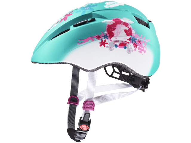 UVEX Kid 2 CC Helmet Kids mint unicorn mat